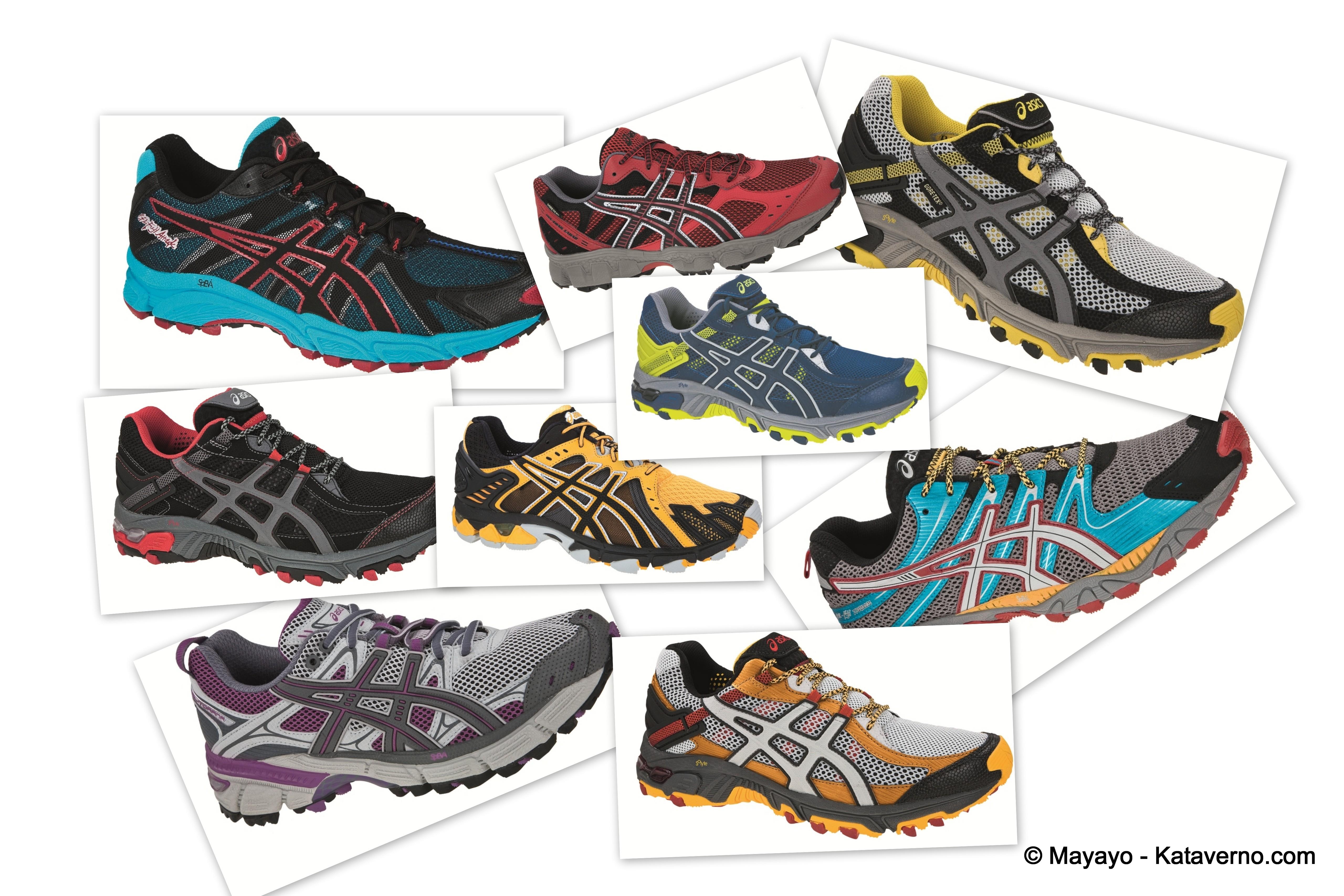 zapatillas de trail running hombre asics