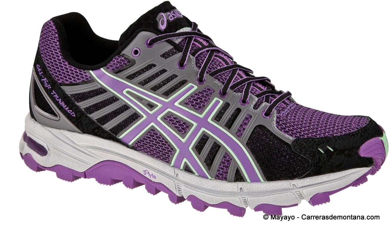 calzado asics mujer trail