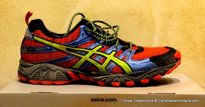 asics hombres trail