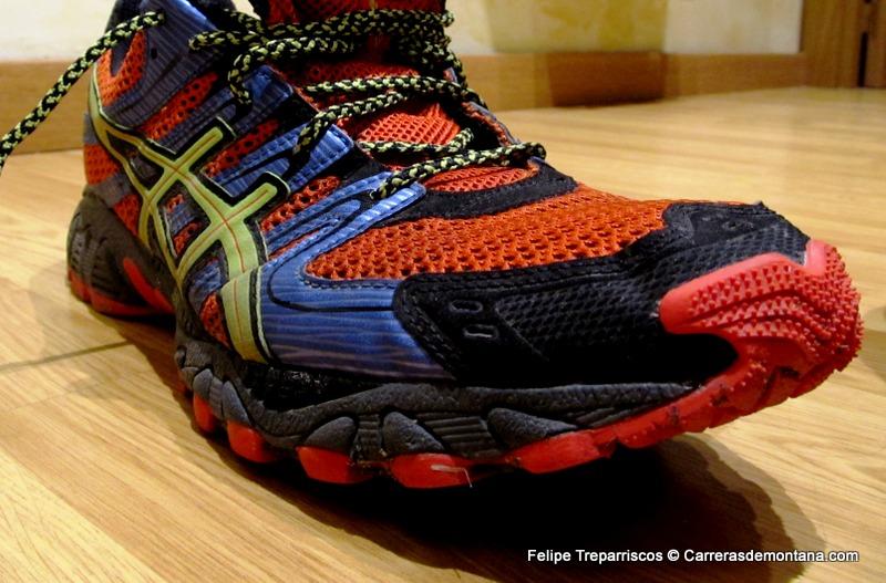 zapatillas asics montaña hombre